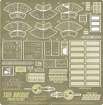 TOS BRIDGE Photoetch Set by Paragrafix